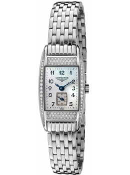 Longines Women's BelleArti White Diamond White Mother Of Pearl D