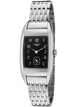 Longines Women's BelleArti Black Dial Stainless Steel